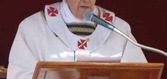 """البابا """"النبي هو من يدفعنا للسير نحو المستقبل برجاء"""""""