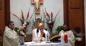 إحتفل الرهبان الفرنسيسكان بعيد العائلة المقدسة