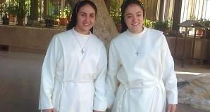 النذور الرهبانية الاولي للاخوات مريم يوسف  ونادية جميل
