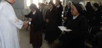 لقاء الرهبنيات الشهري في المطرانية الكاثوليك الاقباط