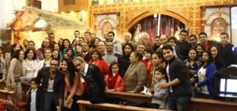 جمعية الشباب الكاثوليكى المصرى ساعة سجود راس السنة