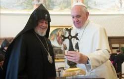 البابا يستقبل كاثوليكوس الأرمن كاراكين الثاني ويشدد على أهمية الحوار المسكوني