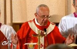 الاحتفال بالقداس الإلهي مع رؤساء الكنائس الكاثوليكية في الأرض المقدسة