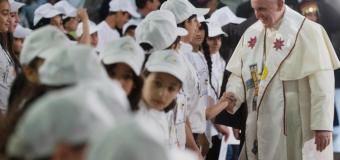 البابا فرنسيس يلتقي أبناء المخيمات في بيت لحم