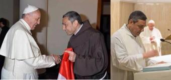 لقاء قداسة البابا فرنسيس مع الأب كمال لبيب