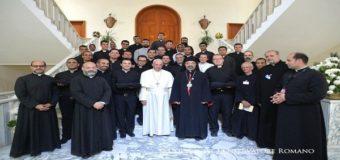 بيان الكنيسة الكاثوليكية بخصوص زيارة البابا فرنسيس