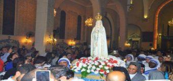 عرس للعذراء سيدة فاتيما فى مطرانية القاهرة للكلدان بمصر