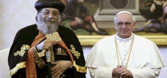 رسالة البابا فرنسيس إلى البابا تواضروس بمناسبة يوم الصداقة بين الكنيسة الكاثوليكية والكنيسة الأرثوذكسية