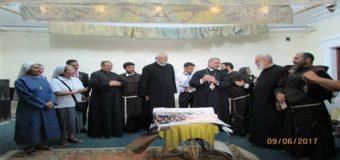 الأحتفال بذكري السيامة الاسقفية الأولي لنيافة الأنبا عمانوئيل
