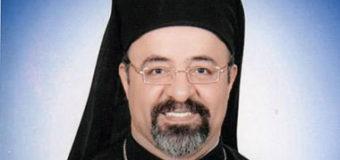 البطريرك ابراهيم اسحق يرسل برقية تهنئة لبطريرك الروم الكاثوليك الجديد
