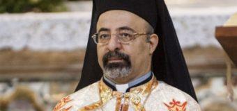 البطريرك ابراهيم اسحق يدين الحادث الإرهابى بالبدراشين
