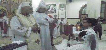 الاحتفال بعيد رئيس الملائكة ميخائيل ببنى شقير