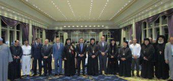 حفل استقبال غبطة البطريرك الأنبا ابراهيم اسحق وأعضاء سينودس الكنيسةبالاقصر