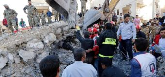 البابا فرنسيس يبرق معزيا بضحايا الزلزال في إيران والعراق