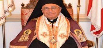 القداس الاحتفالي الأول لغبطة البطريرك يوسف الأول العبسي