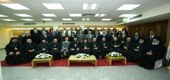 دار الكتاب المقدس تستضيف هيئة البطاركة والأساقفة الكاثوليك بمصر